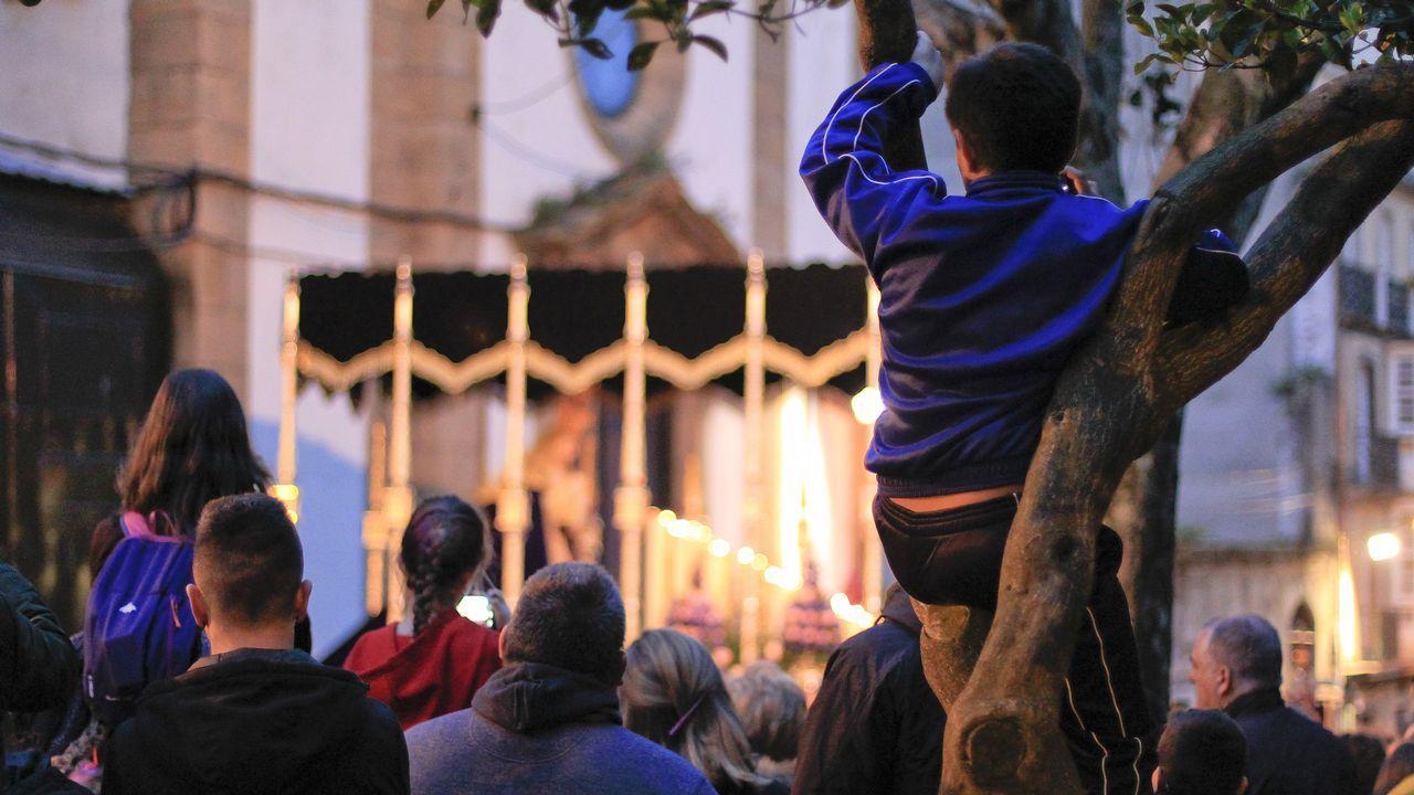 Lunes Santo | Procesión de Cristo Rey y la Virgen de la Amargura. Cofradía de Dolores