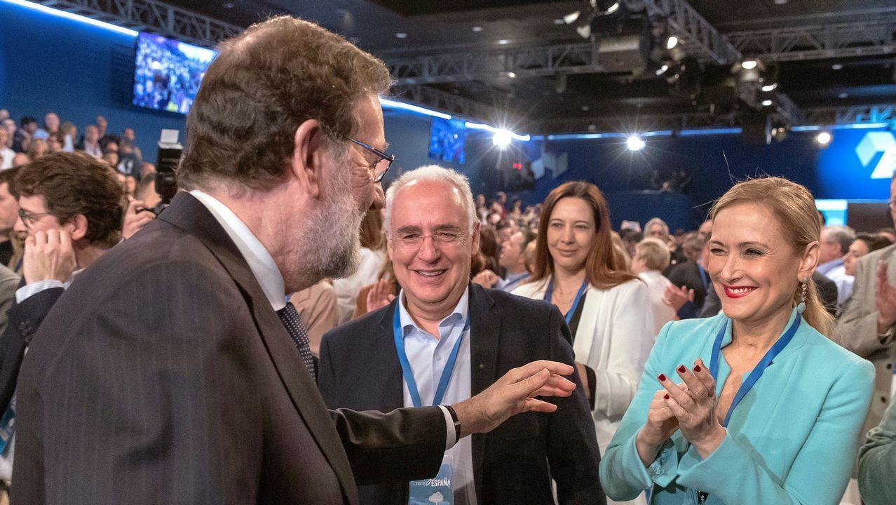 La convención del PP, en dos minutos: entre el intento de buen rollo y el protagonismo de Cifuentes