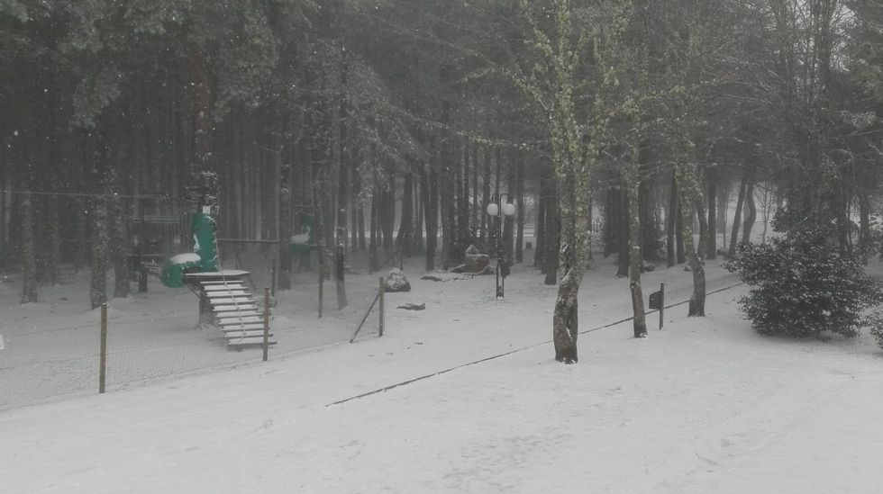 Los «#10yearschallenge» de Ourense.La estación de esquí este domingo