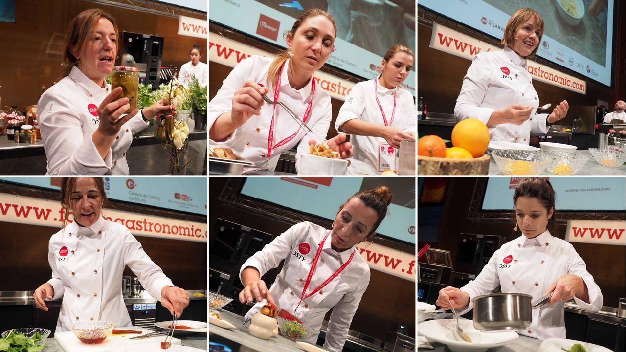 ¿Qué dicen las protagonistas del Fòrum Gastronòmic?.Lucía Freitas, en su restaurante A Tafona (Santiago)