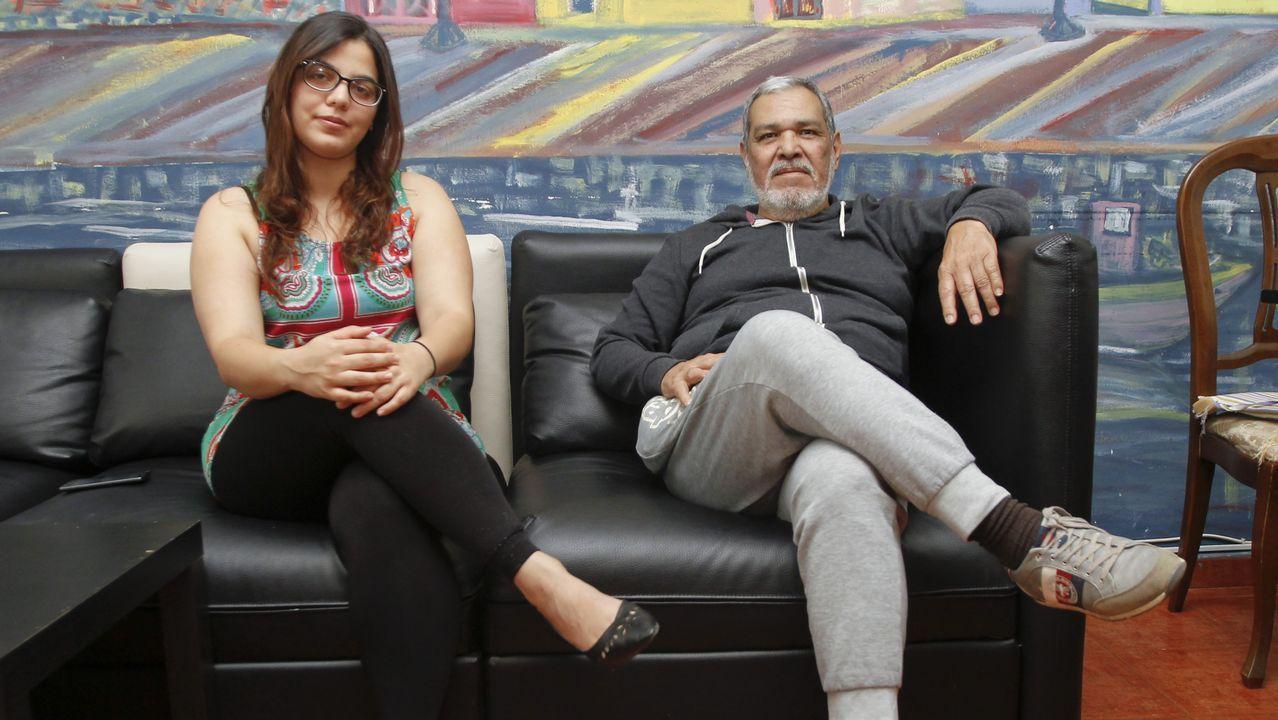 Los venezolanos son ya el colectivo de inmigrantes más frágiles de la ciudad de Ferrol.Las mafias llegan utilizar el interior de la motos de agua para transportar a los inmigrantes que pretenden llegar a España