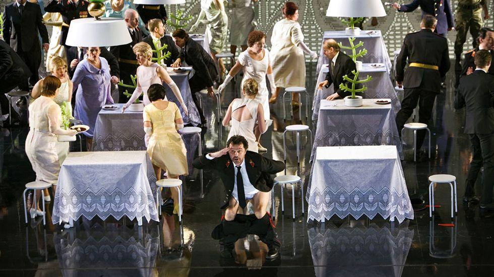 La Ópera de Oviedo estrena en España «Mazepa», de Tchaikovsky.Tino Casal