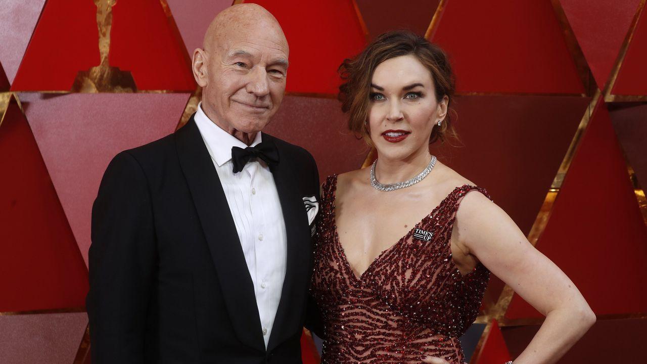 .Patrick Stewart y su mujer Sunny Ozell