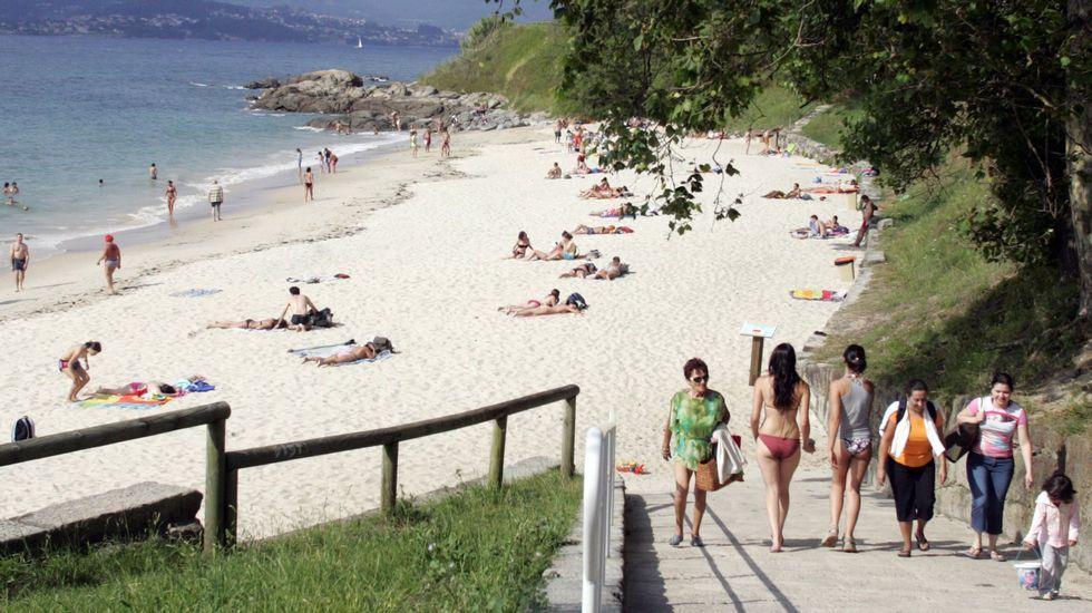 Playa de Tombo do Gato, en Vigo