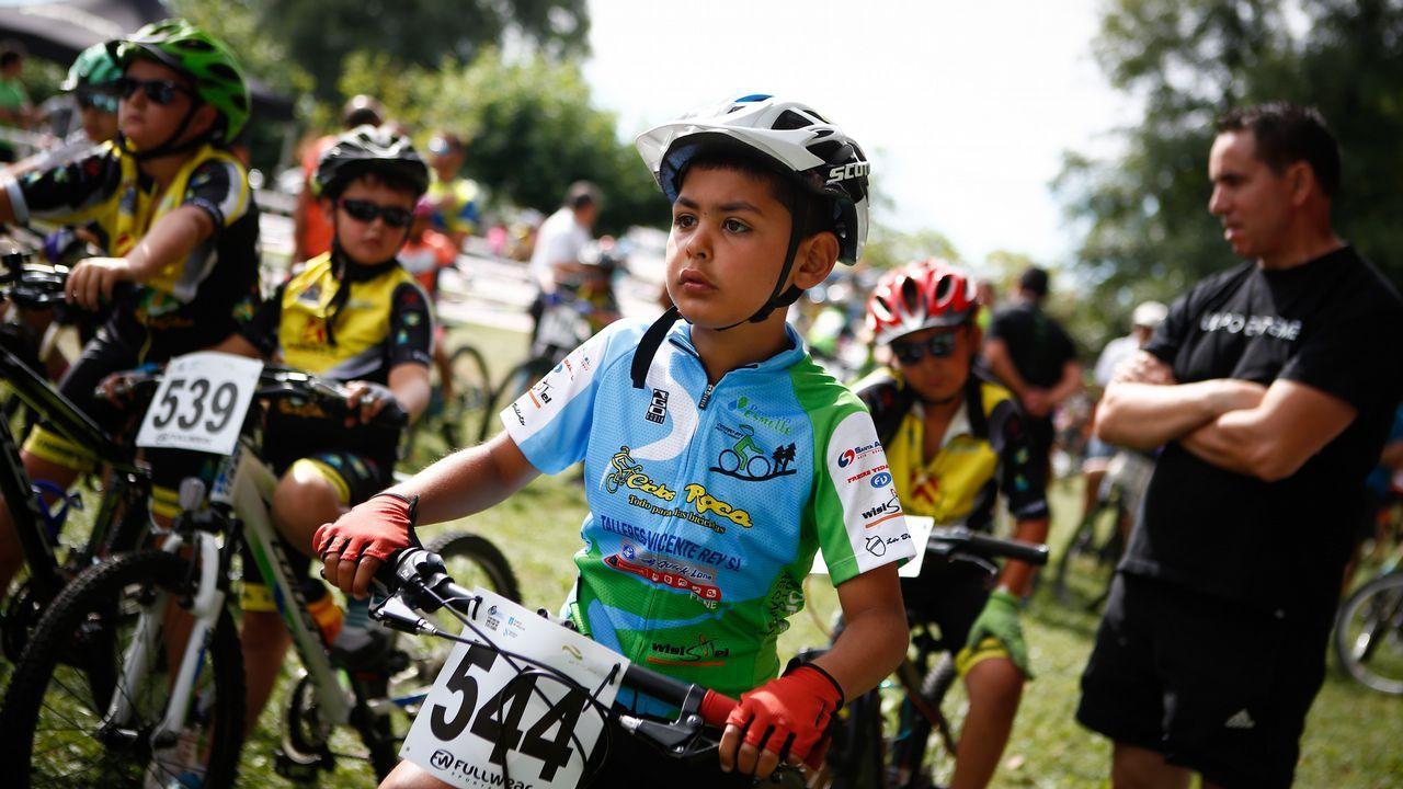 MINI BTT MACEDA.Se dieron cita más de 400 niños y niñas de las escuelas de ciclismo de Galicia.