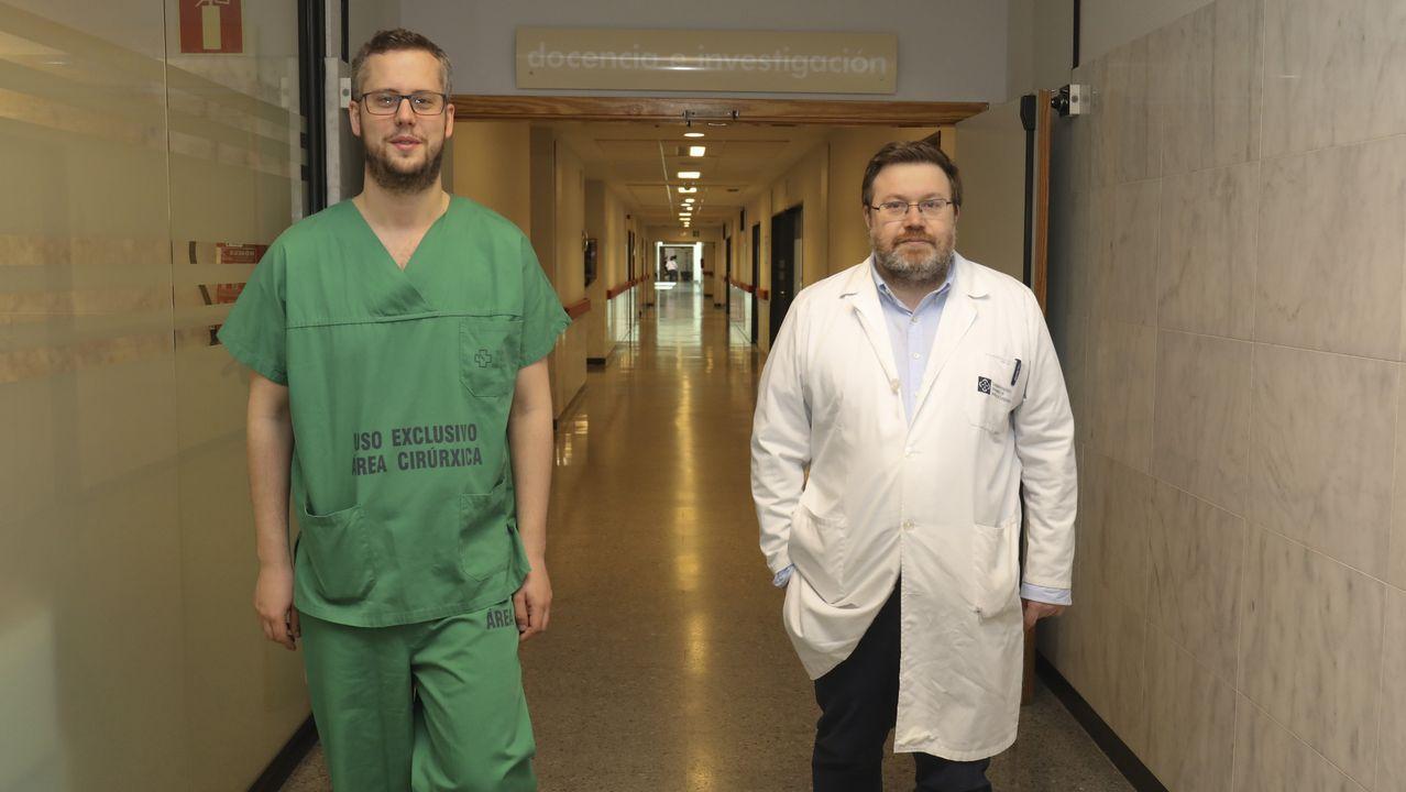 «Gracias a todos los médicos, Derek ya está aquí».Sarah Almagro