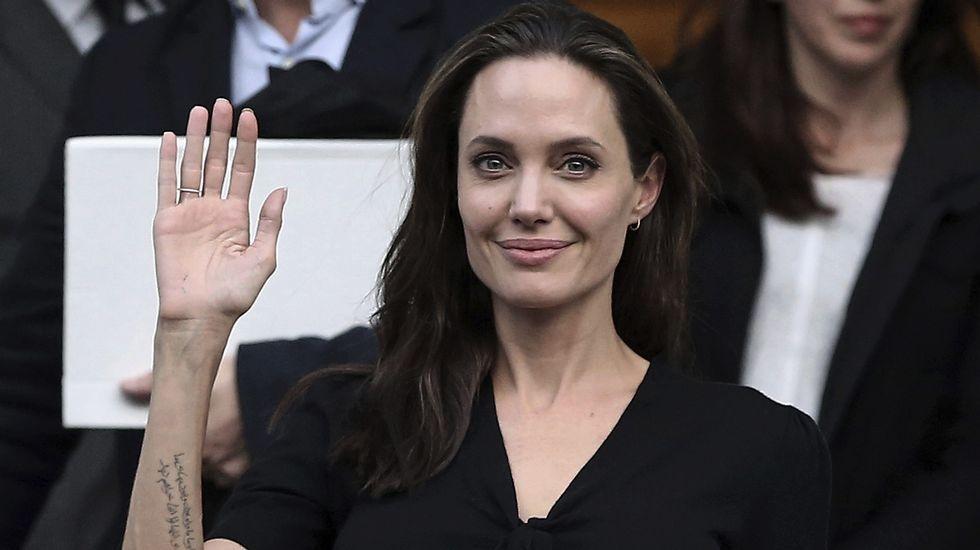El gesto de Angelina Jolie