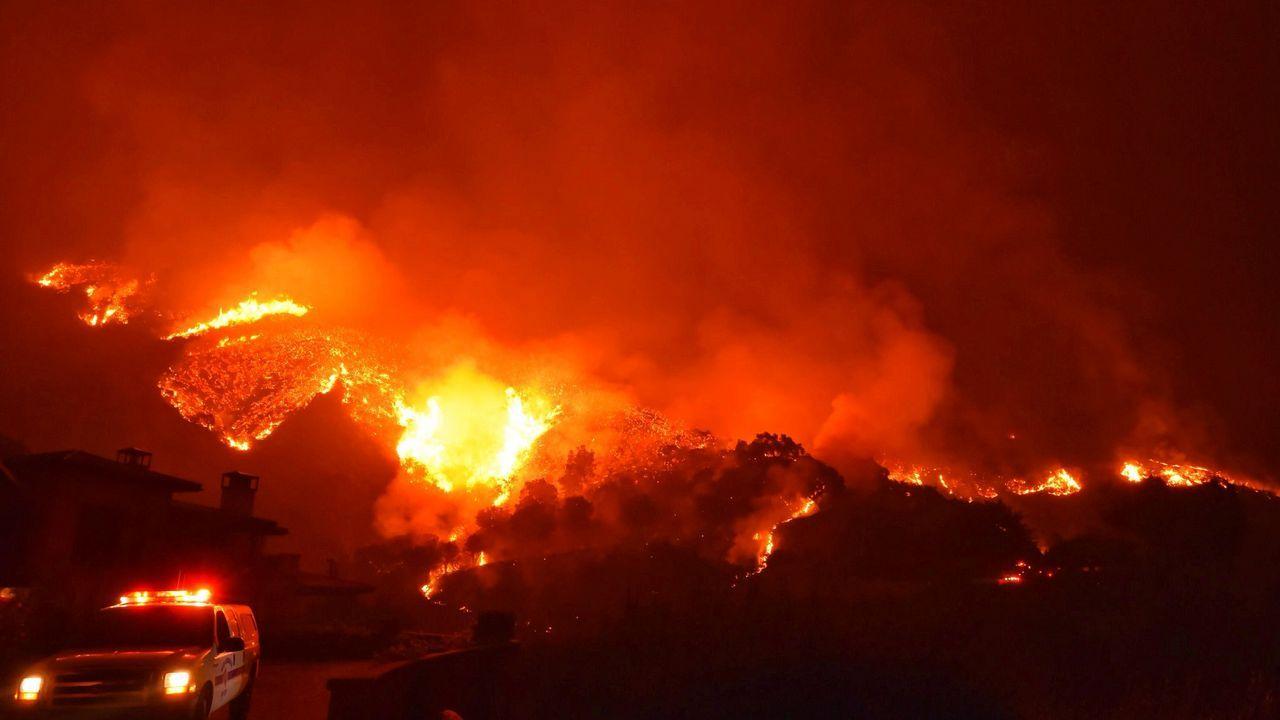 Los incendios en California siguen preocupando