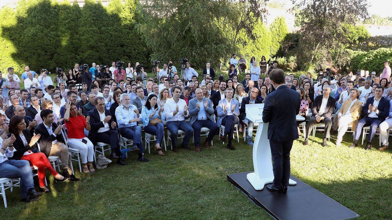 El presidente de la Xunta: «No puedo fallar a los gallegos»