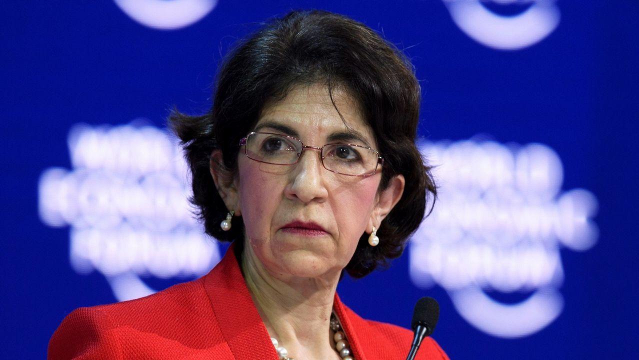 Fabiola Gianotti, directora del CERN