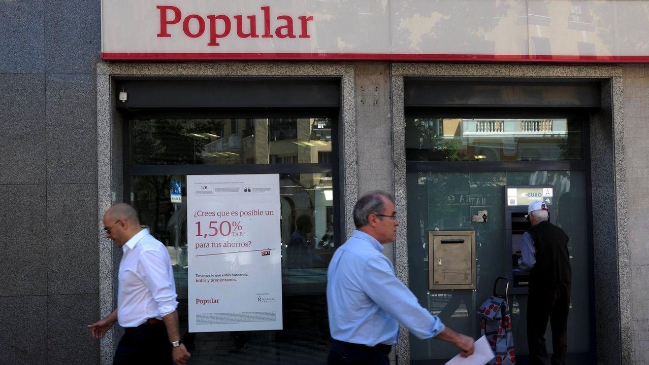 Anticorrupción apunta a toda la cúpula del Popular por la quiebra de la entidad.Junta general de accionistas del Popular, el pasado abril