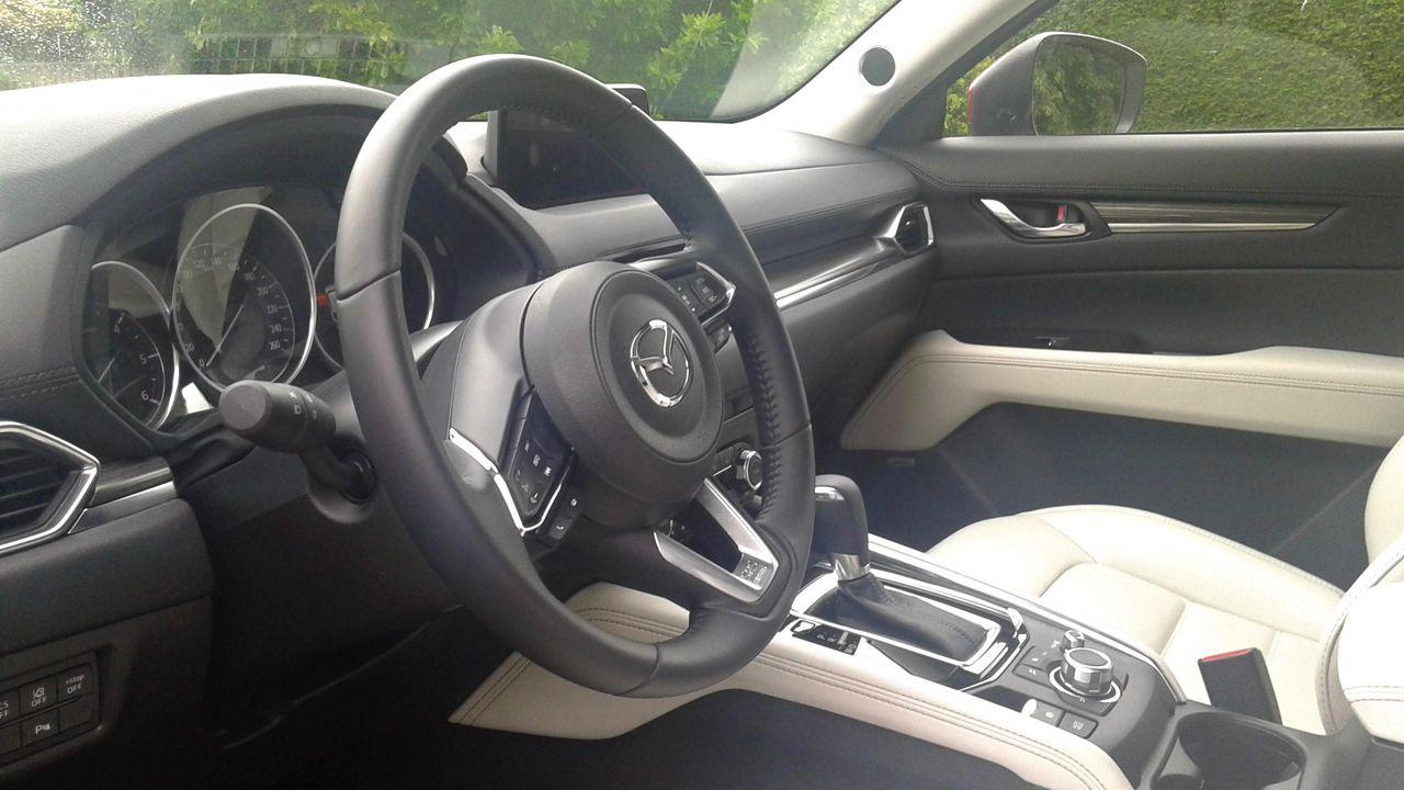 Interior del Mazda CX5