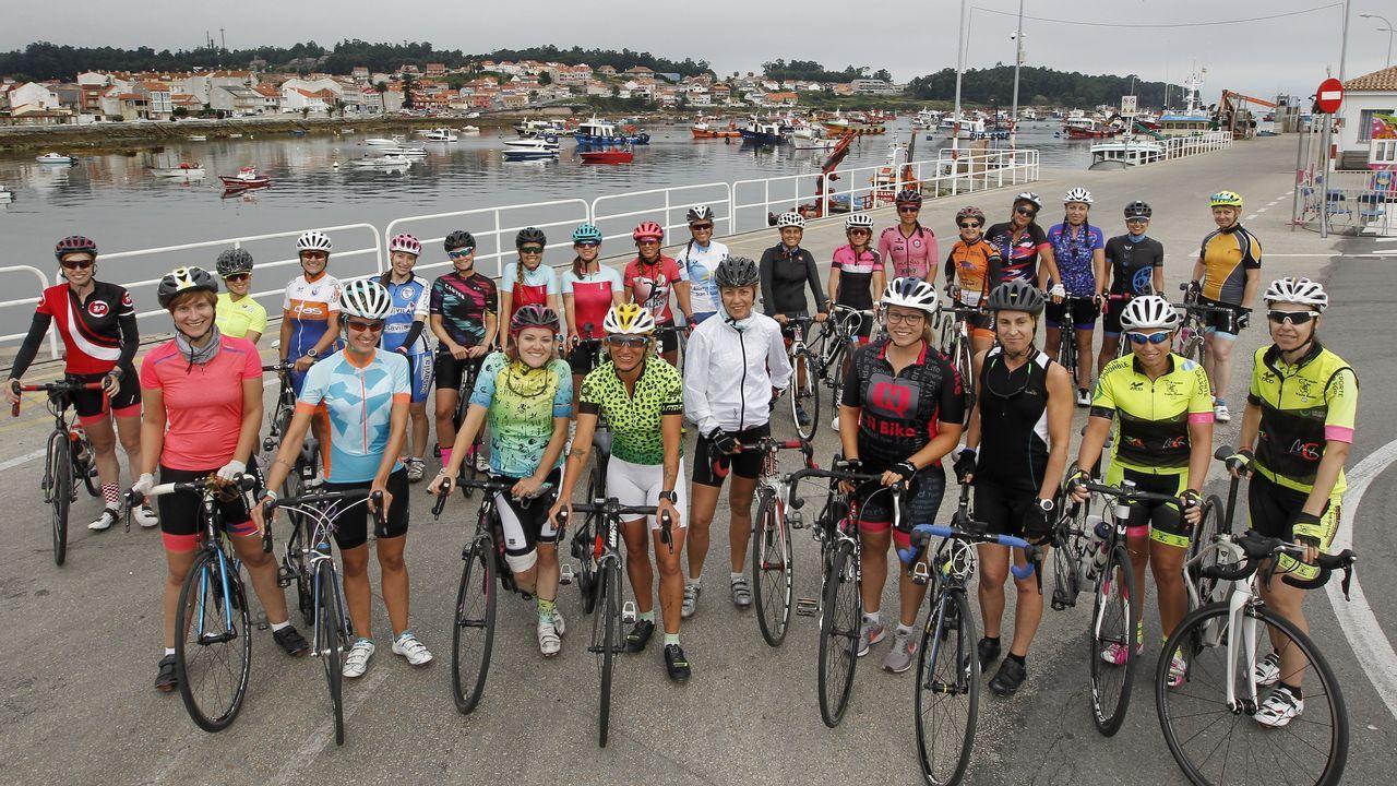 Más de una veintena de mujeres formarán el primer club ciclista gallego femenino