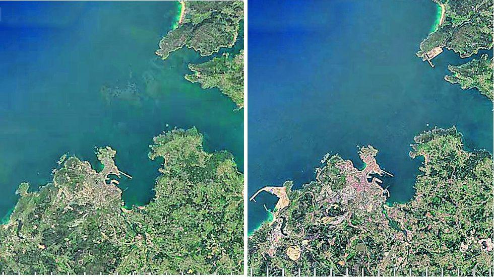 Los puertos exteriores de A Coruña y Ferrol