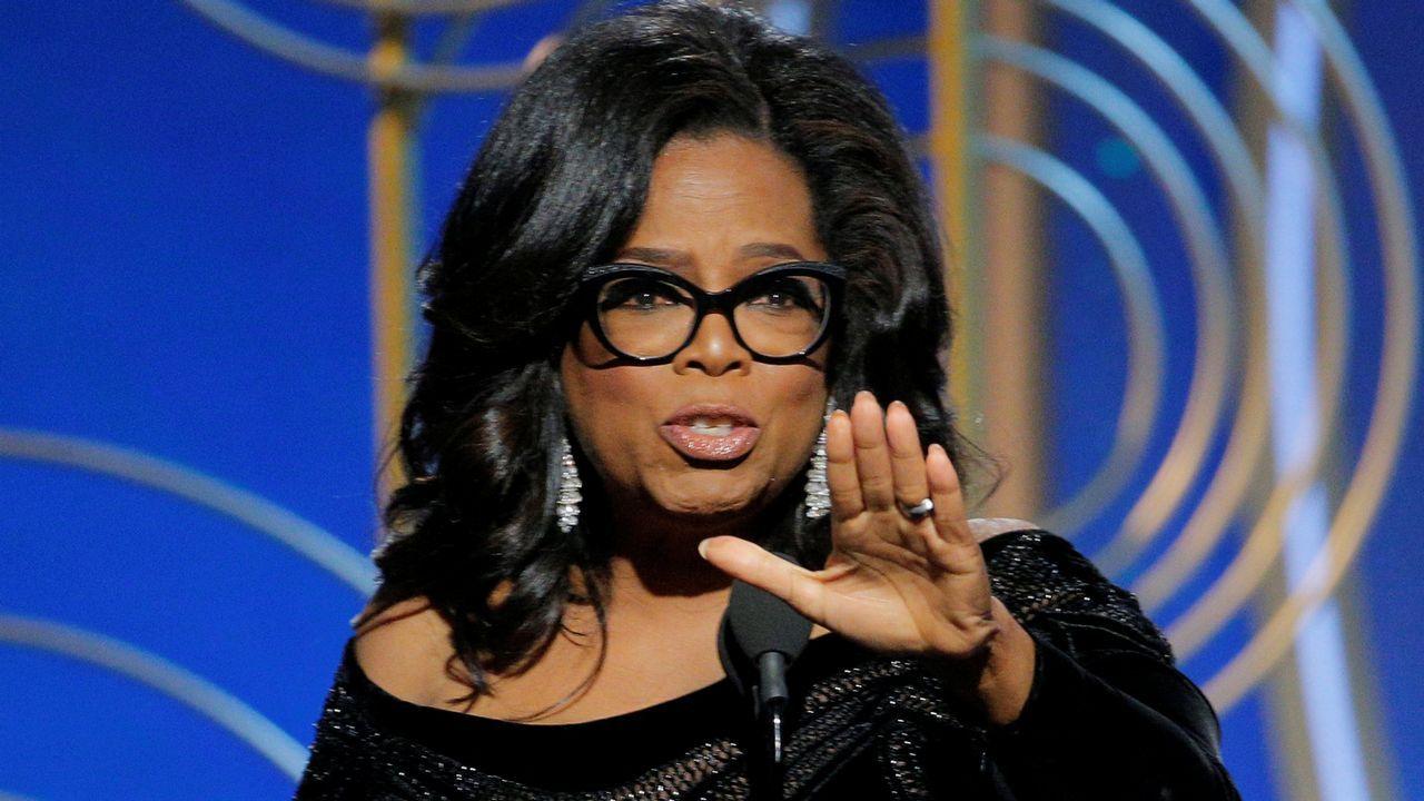 «Su tiempo se ha terminado», el contundente discurso de Oprah Winfrey en los Globos de Oro