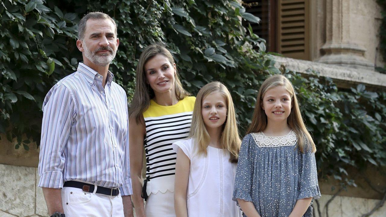 .Foto de familia en Marivent