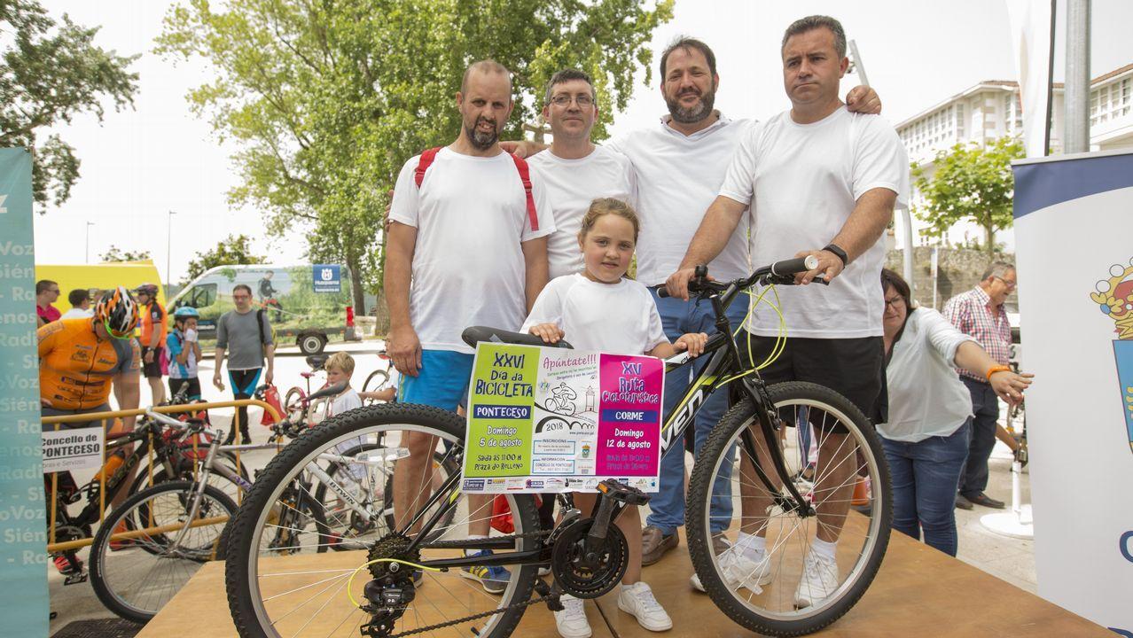 El Día da Bicicleta de Ponteceso en imágenes