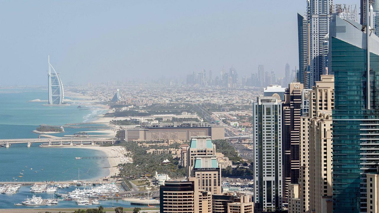 Vista de Dubai