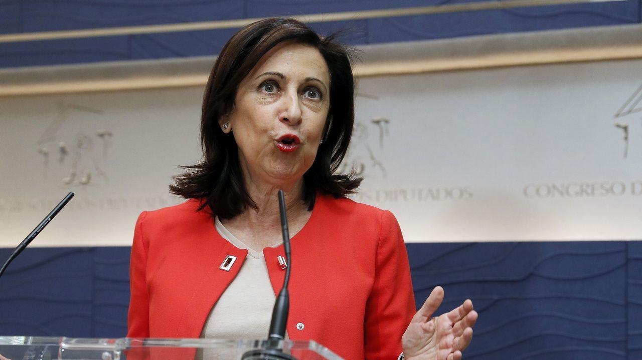 .Margarita Robles, portavoz del PSOE