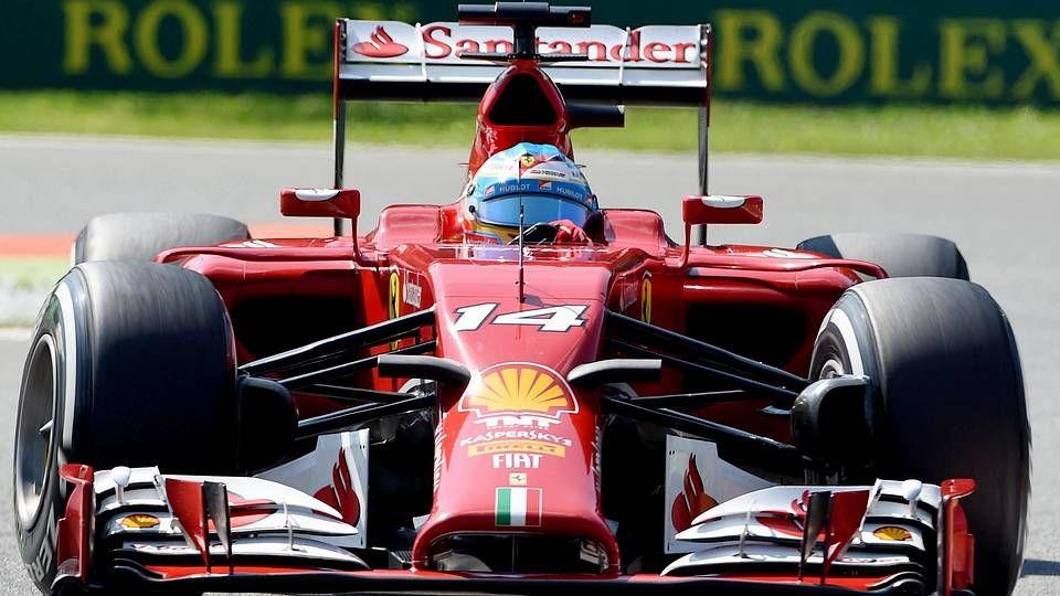 El Gran Premio de Italia, en imágenes.Fernando Alonso.