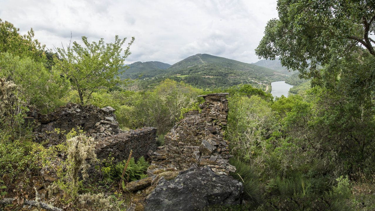 .En la zona pueden verse ruinas de varios sequeiros