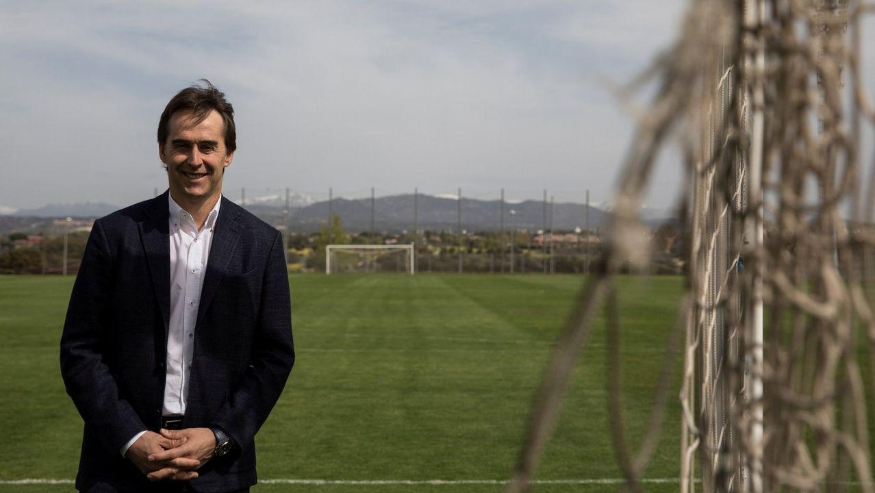 Julen Lopetegui: «El 6-1 a Argentina ya es pasado».