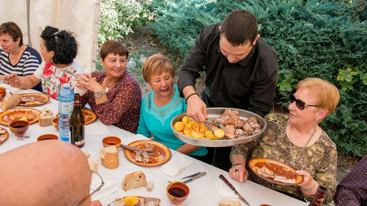 Exaltación de carne en Montederramo