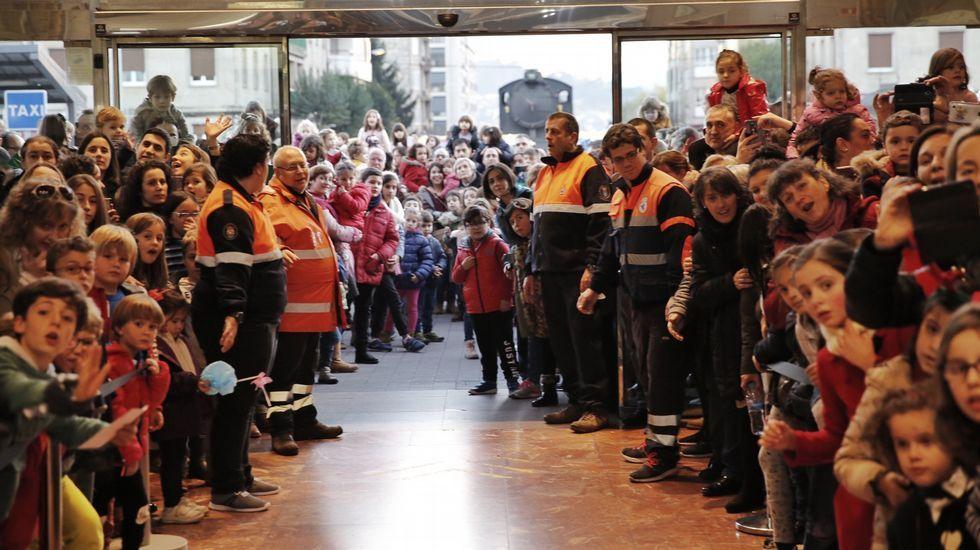 Heladas en Ourense.Helada en el área recreativa de A Veronza, en Ribadavia