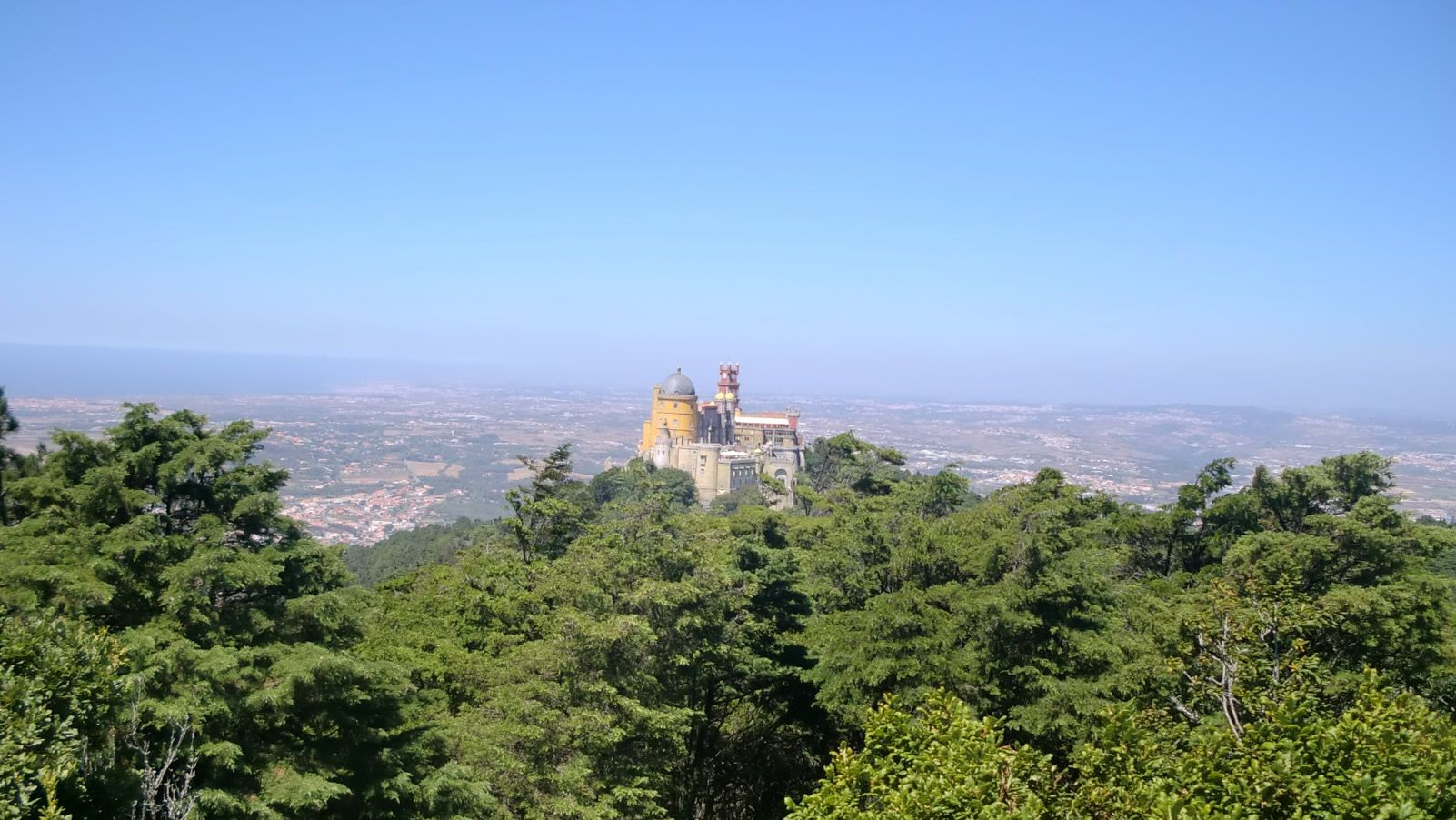 Sintra está a 37 kilómetros de Lisboa