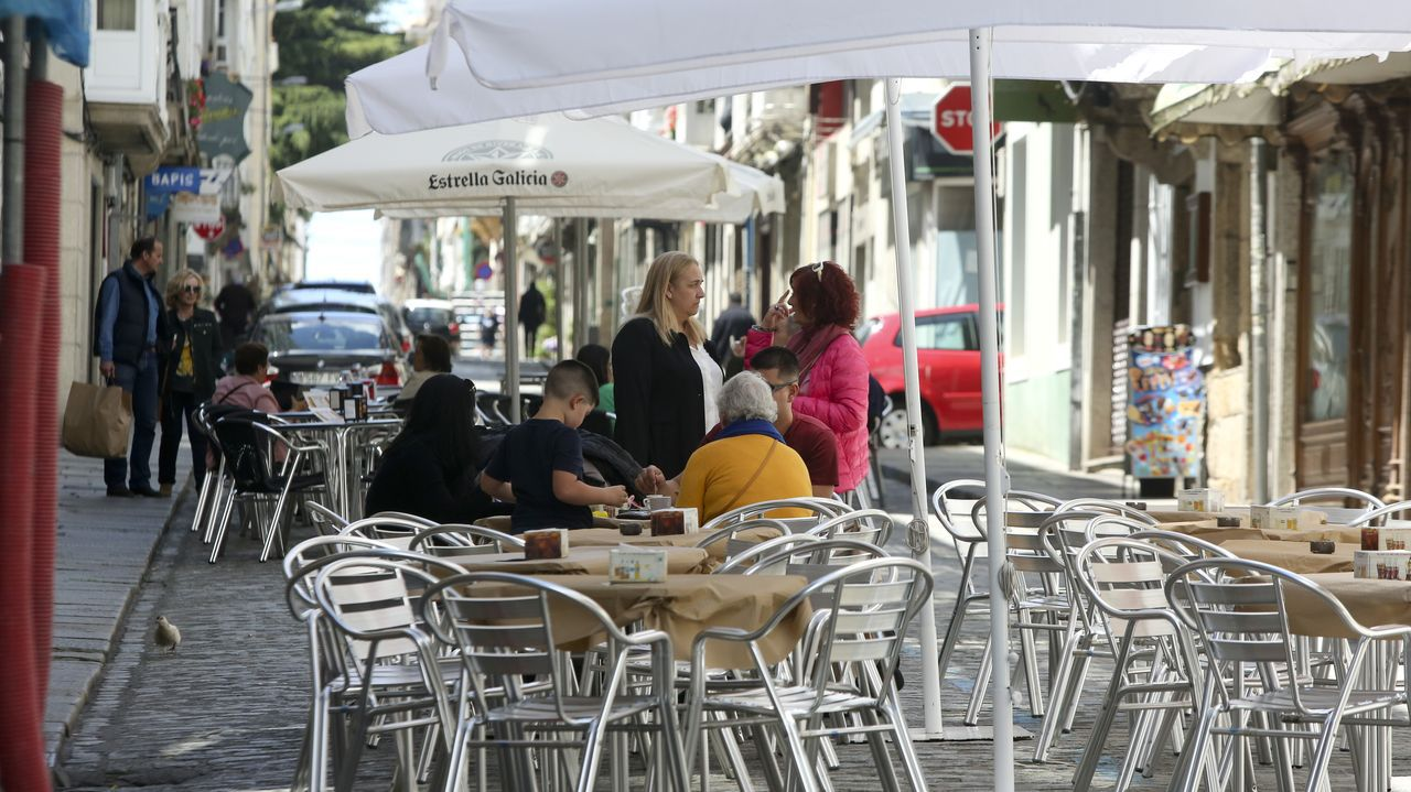 En la calle María cuatro establecimientos han sido autorizados a poner terrazas