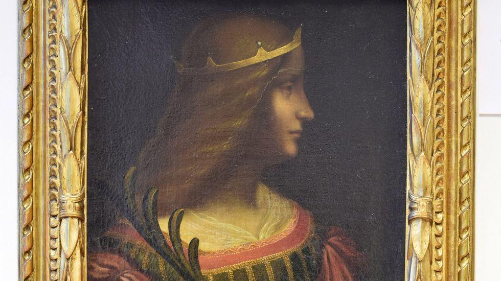 Superficie del panteón familiar de Francesco del Giocondo, marido de Lisa Gherardini.