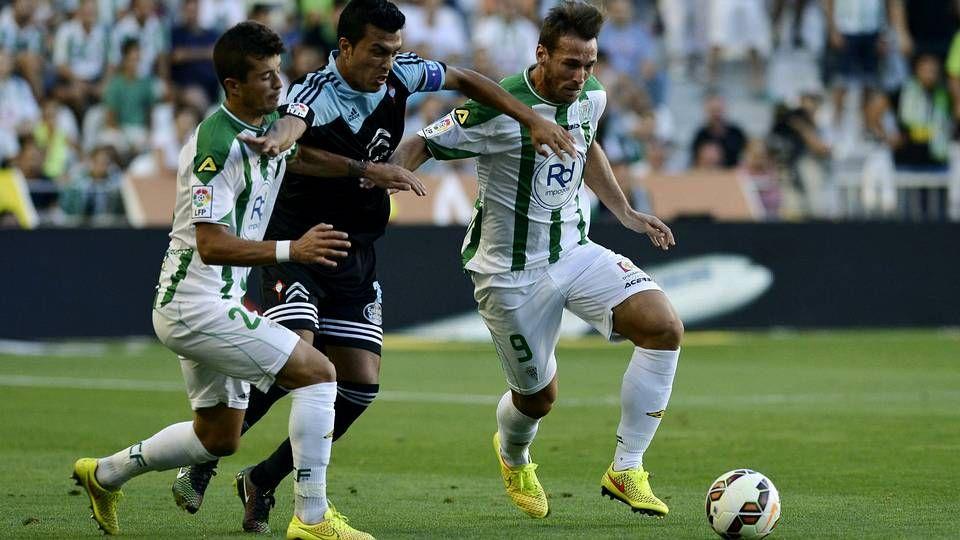 El Lugo-Córdoba, en fotos.Juan Villar celebrando un gol