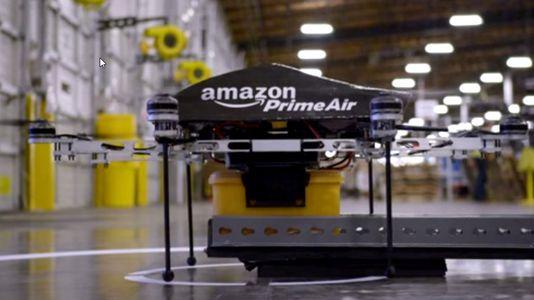 Así funciona el sistema de reparto con drones de Amazon