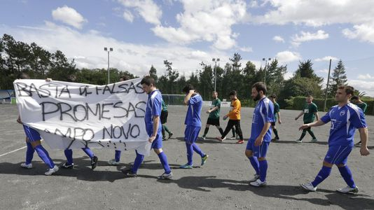 Protesta del Marino de Mera