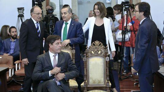 Cronología de una mañana de locos en la Diputación de Lugo