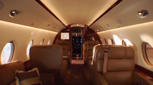 Así es el avión que le compró Cristiano Ronaldo al presidente de Indra