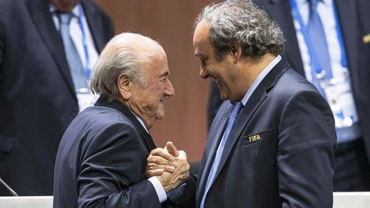 Blatter y Platini, sancionados 8 años por la FIFA