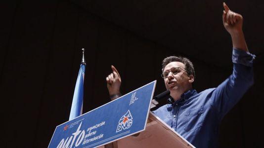 El discurso de Xavier Vence en la asamblea del BNG