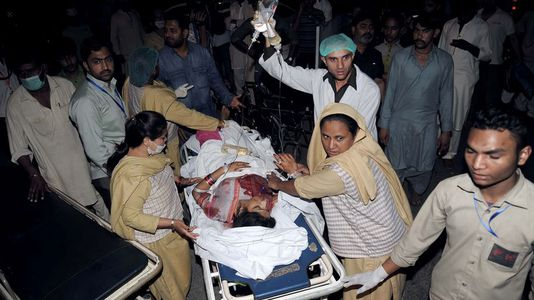 Atentado suicida en Pakistan