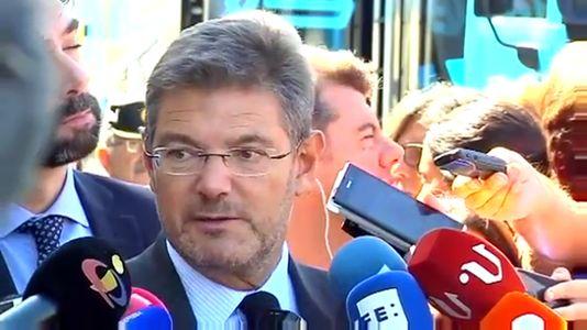 Catalá: «El tren fue desviado a una vía en la que había que ir más despacio»