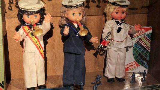 Expocisión de juguetes en el Museo del Mar