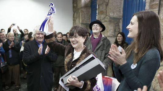 Margarita Ledo recogió en Láncara el premio Ramón Piñeiro-Facer país