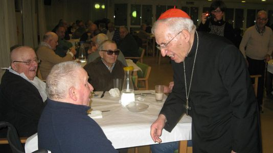 El cardenal de Vilalba es fiel a sus costumbres