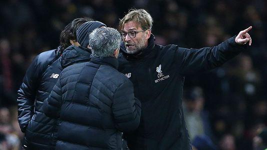 Klopp, sobre su discusión con Mourinho