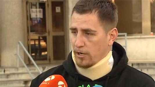 Un guardia civil insulta y amenaza a un antitaurino detenido en una plaza de toros de Madrid