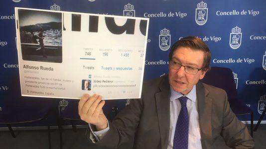 Polémica por un retuit del vicepresidente de la Xunta tras la derrota del Celta en Copa