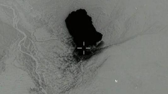El vídeo del ataque con «la madre de todas las bombas no nucleares»