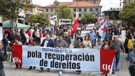 Goteo de marchas en otro Primero de Mayo sin unidad sindical