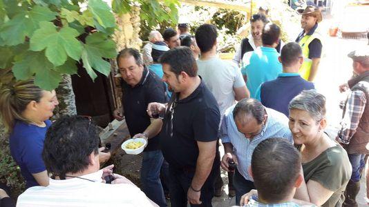 Multitudinaria asistencia a la Feira do Viño de Vilachá