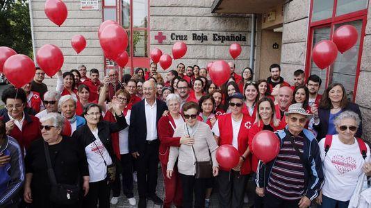 Cruz Roja Ourense celebra su aniversario
